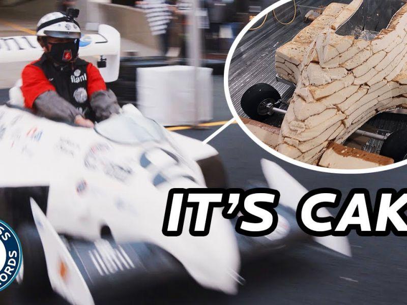 Ecco a voi la torta più veloce del mondo, guidata da Michael Andretti