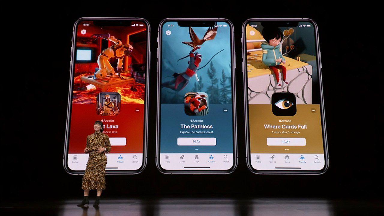 Ecco il video dei primi giochi Apple Arcade accessibili su