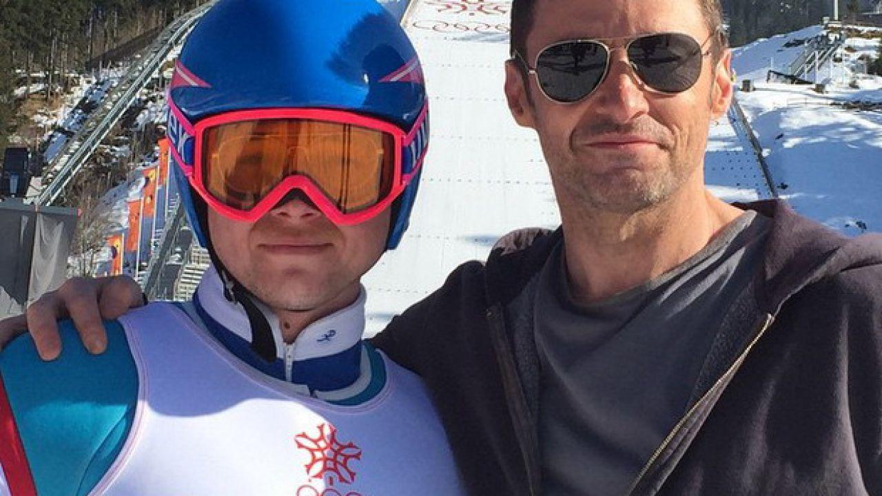 "Eddie ""The Eagle"" Edwards biopic:  Hugh Jackman e Taron Egerton insieme nella prima foto dal set"