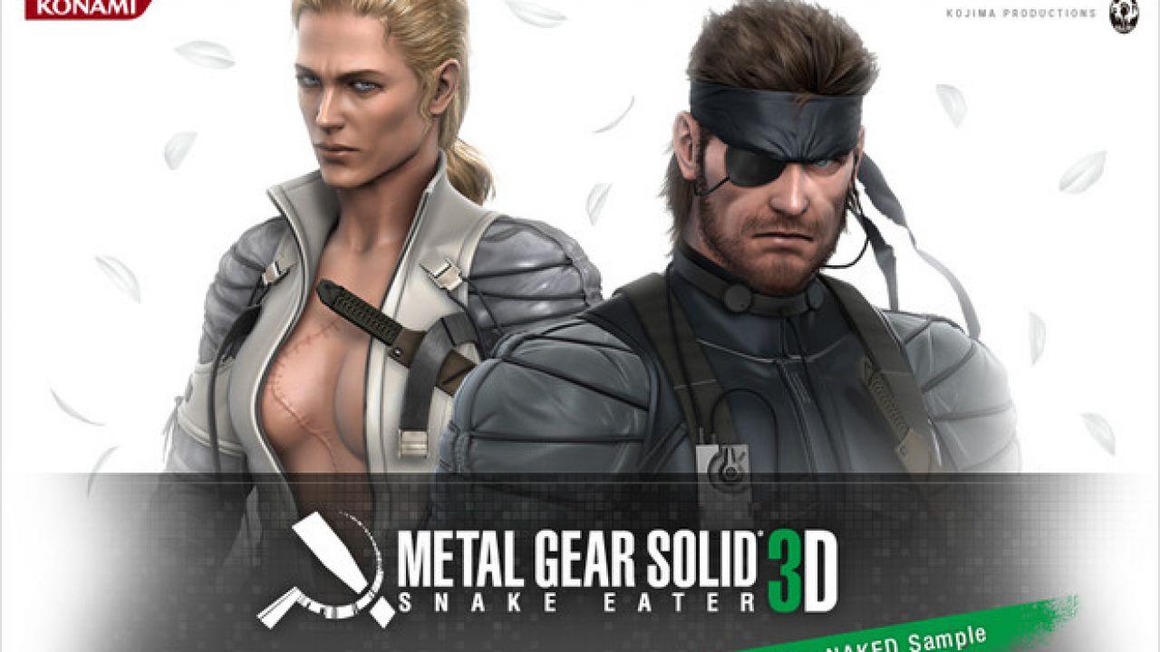 EDGE: Metal Gear Solid 3D: Snake Eater graficamente migliore della versione HD