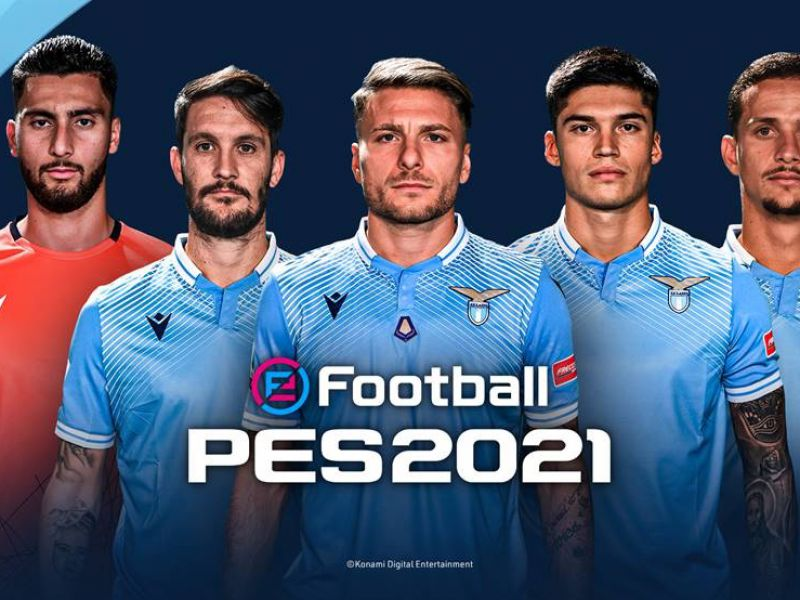 eFootball PES 2021: partnership with S.S. announced Lazio!