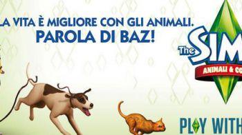 Electronic Arts e BAZ insieme per The Sims 3 Animali & Co.