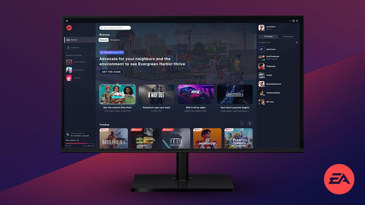 Electronic Arts presenta EA Desktop per PC, la nuova app che sostituirà Origin