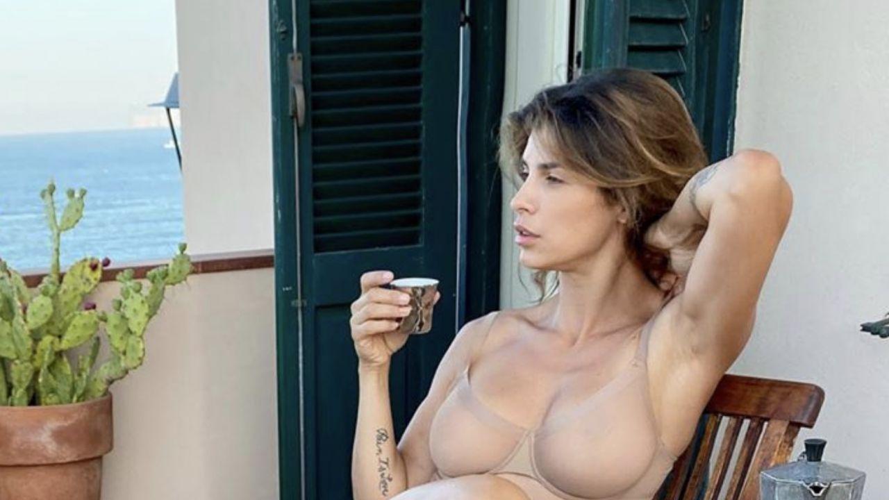 Elisabetta Canalis al mare in Sardegna: lo scatto bollente su Instagram conquista tutti