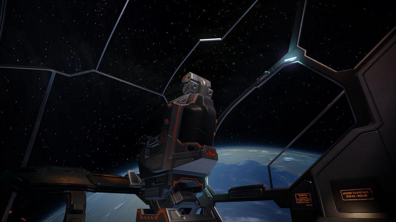 Elite Dangerous giocato con Oculus Rift