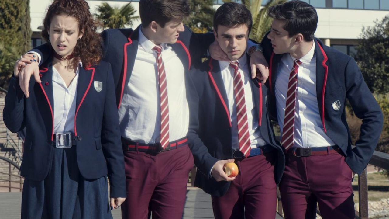 Elite presentato oggi il cast della nuova serie originale Netflix spagnola