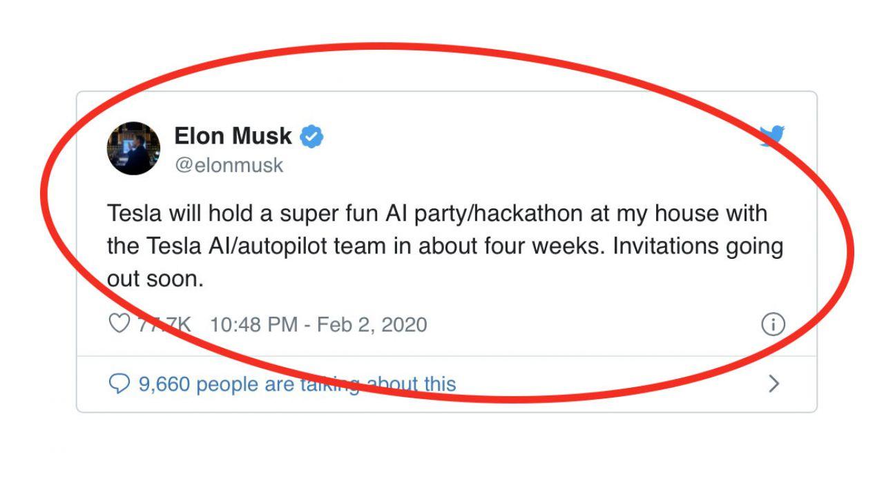 Elon Musk organizza un hackathon a casa sua: sapete hackerare Autopilot?