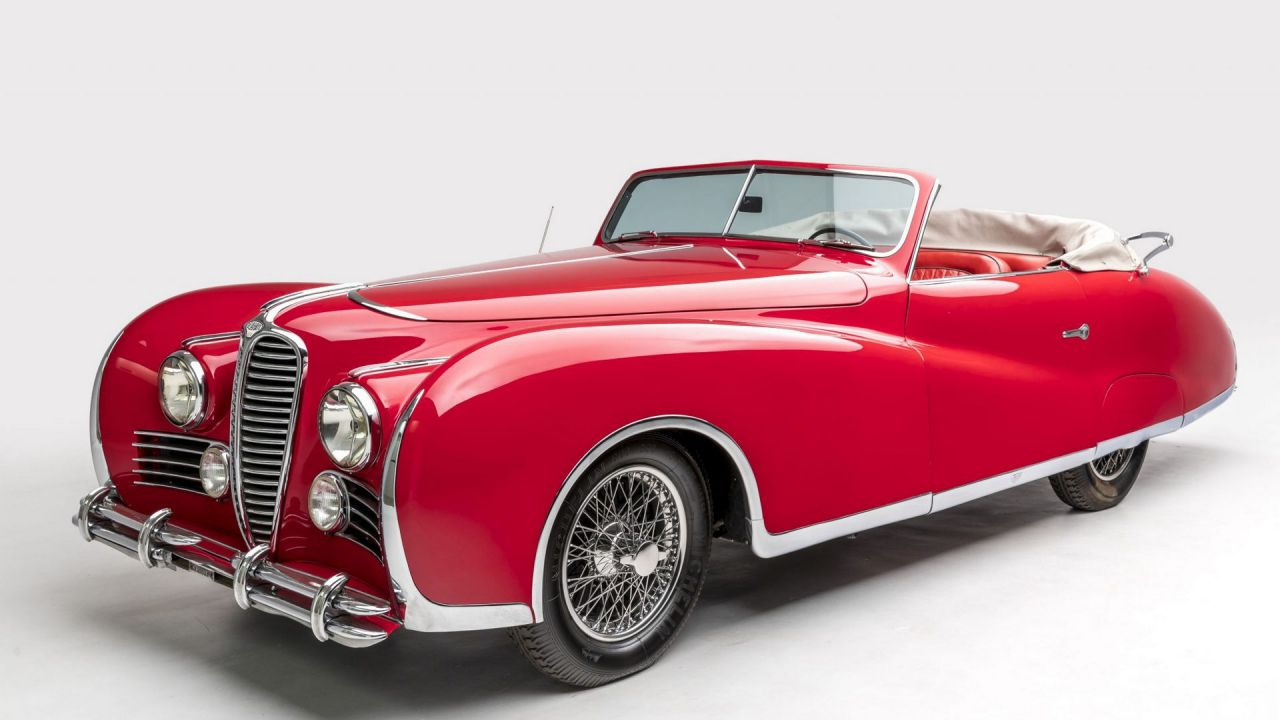 Elton John ha posseduto questa meravigliosa Delahaye 175 Cabrio del 1949