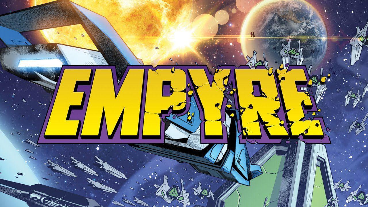 Empyre: un artista della Marvel ha pubblicato la bozza del villain principale