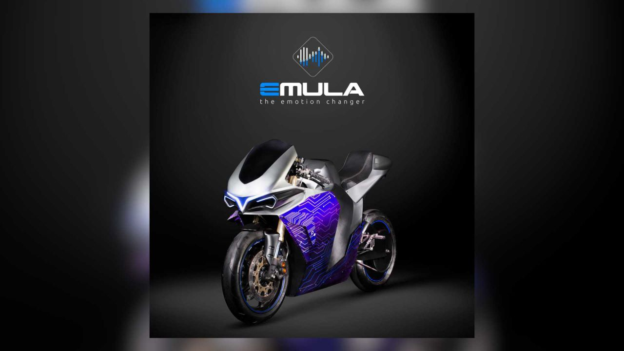 Emula, la moto elettrica con suoni, prestazioni e vibrazioni delle tradizionali