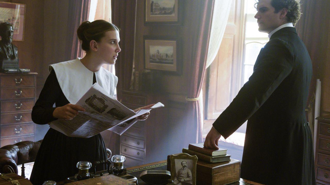 Enola Holmes, Henry Cavill commenta la disputa legale che affligge il film Netflix
