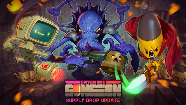 Enter the Gungeon: il Supply Drop update arriva su PC il 26 Gennaio