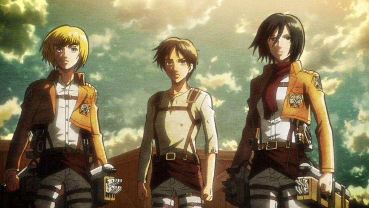 Eren, Mikasa ed Armin combattono il Coronavirus nel nuovo poster de L'Attacco dei Giganti