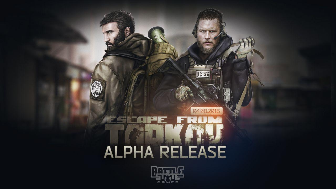 Escape from Tarkov in Alpha ad agosto