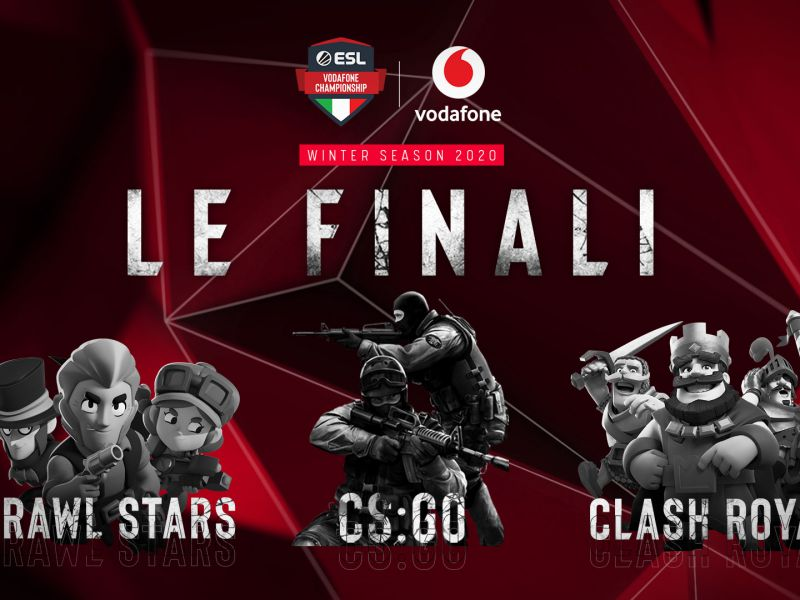ESL Vodafone championship and Virtual Arena at MGW_X for the finals!