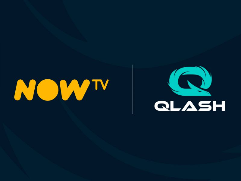 Esports: a new partnership is born between NOW TV and Qlash