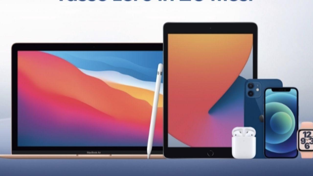 Euronics al via lo Speciale Apple: sconti su iPhone, iPad, Apple Watch e Mac
