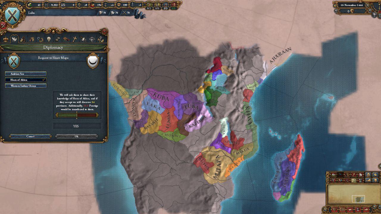 Europa Universalis 4: disponibile ora l'espansione Mare Nostrum