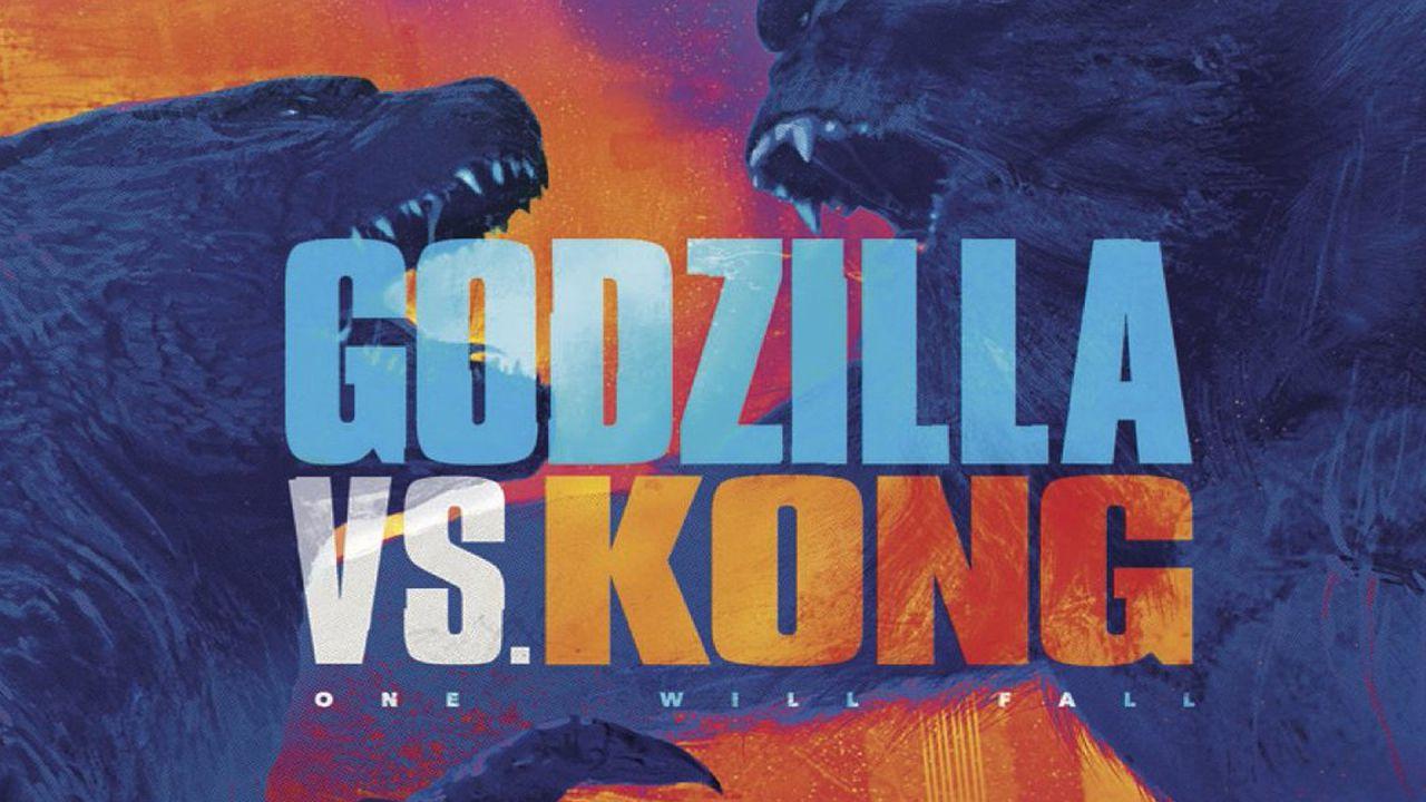 Evangelion incontra Godzilla vs Kong nella incredibile fan art di un artista statunitense
