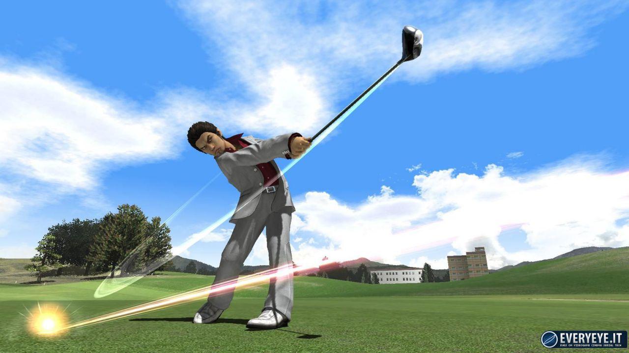 Everybody's Golf per PS Vita: arriva Kazuma Kiryu di Yakuza