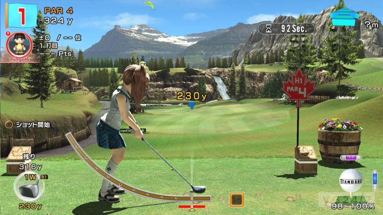 Everybody's Golf si mostra in nuovi scatti