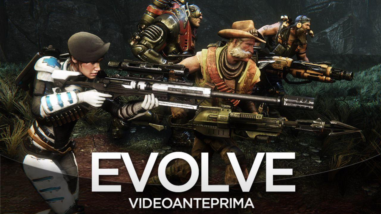 Evolve - Gameplay Live - Replica 18/12/2014