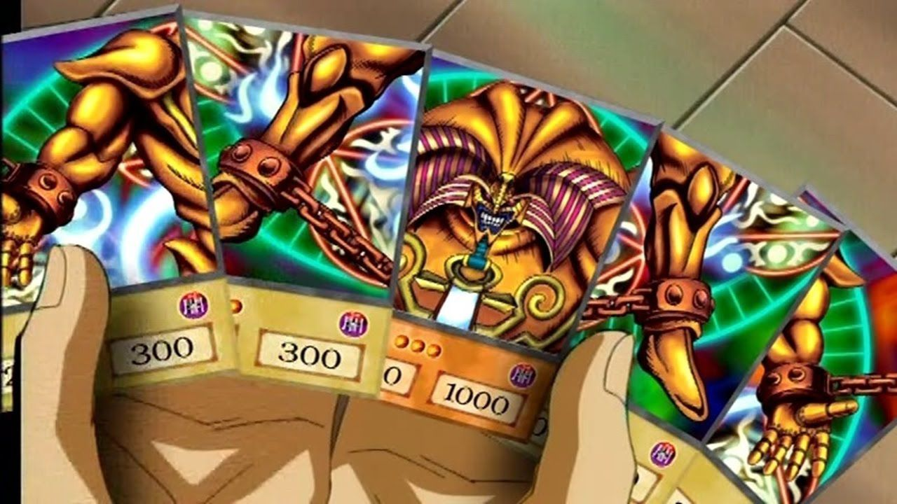 Exodia di Yu-Gi-Oh si mostra in un incredibile busto da ben $1000