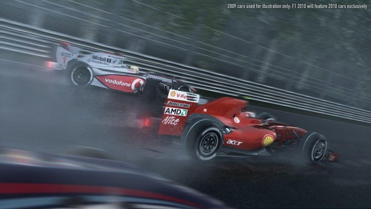 F1 2010, la lista dei controller compatibili