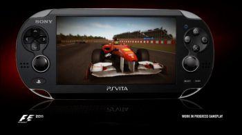 F1 2011: trailer di lancio per la versione PS Vita