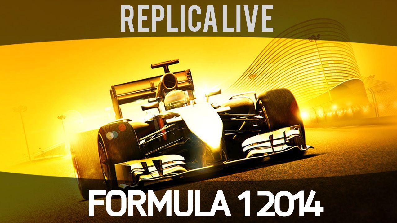 F1 2014: video gameplay da 10 minuti sul circuito del Bahrain