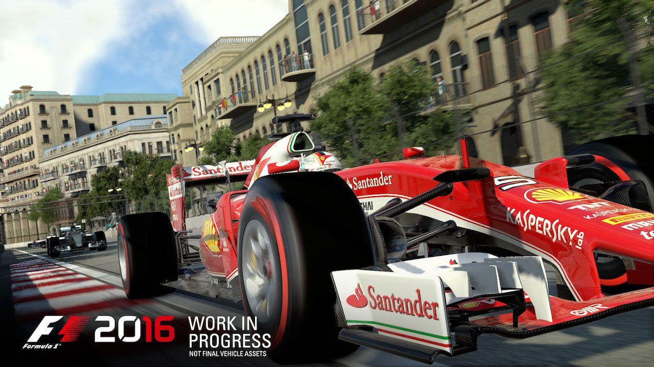F1 2016: aperte le iscrizioni per la closed beta