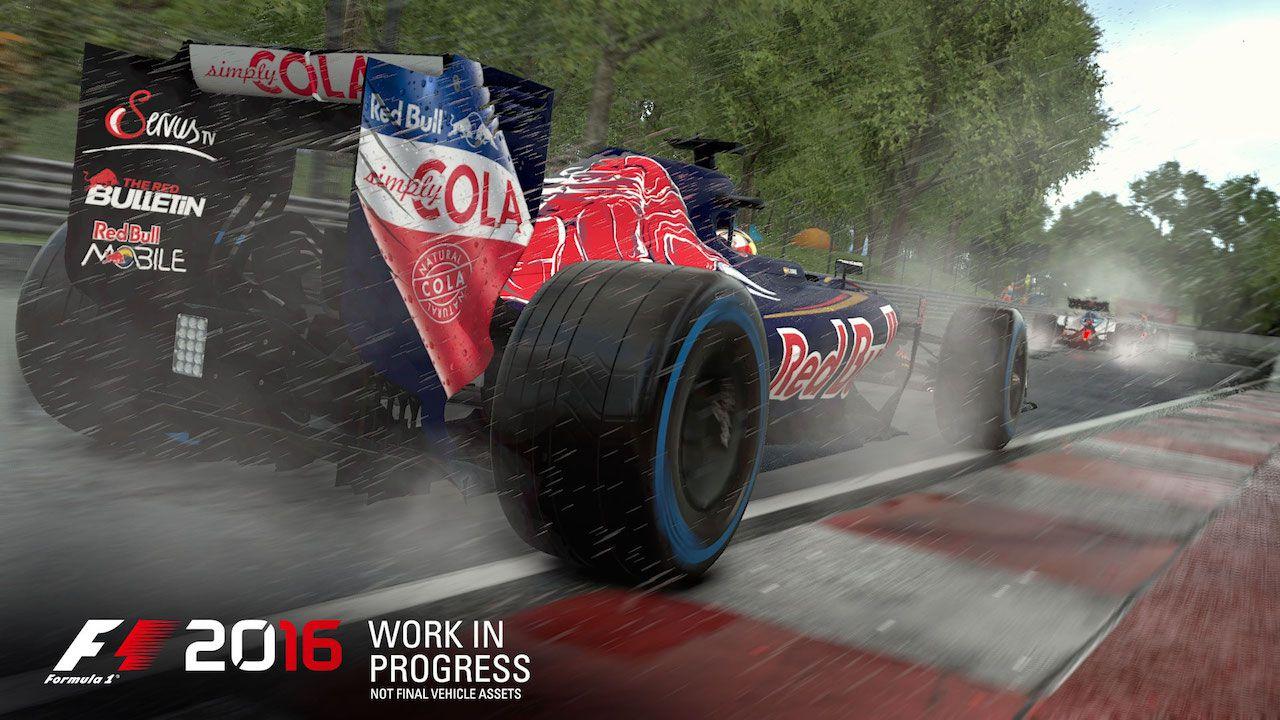 F1 2016: prime immagini e dettagli
