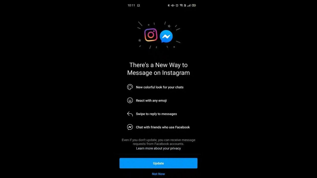 Facebook e Instagram, inizia la fusione delle chat: ecco cosa cambia