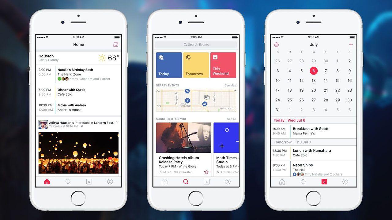Facebook Events, in arrivo l'app dedicata alla ricerca degli eventi