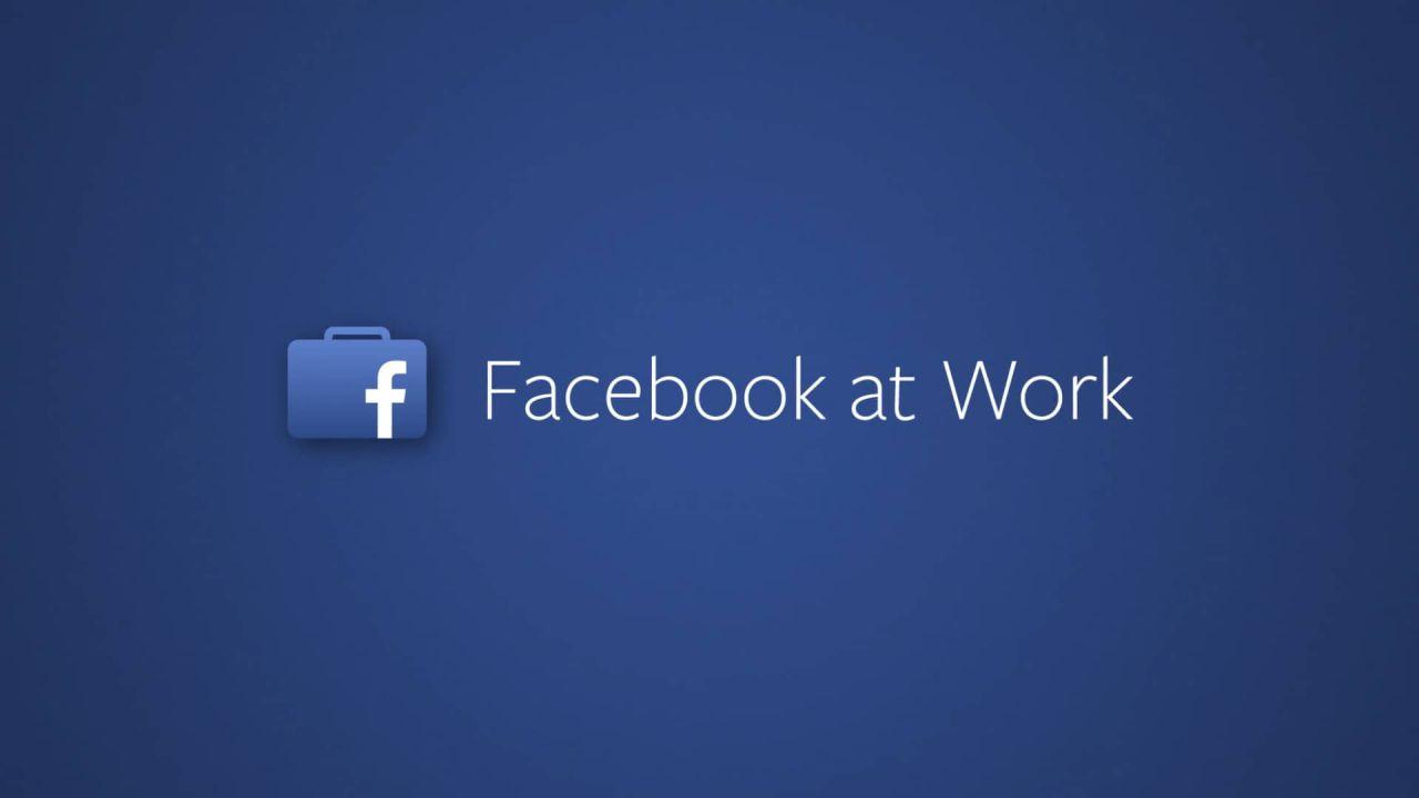 Facebook At Work: il social network in versione aziendale debutta a ottobre