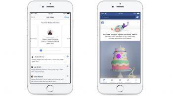 Facebook raccoglierà gli auguri di compleanno in un video
