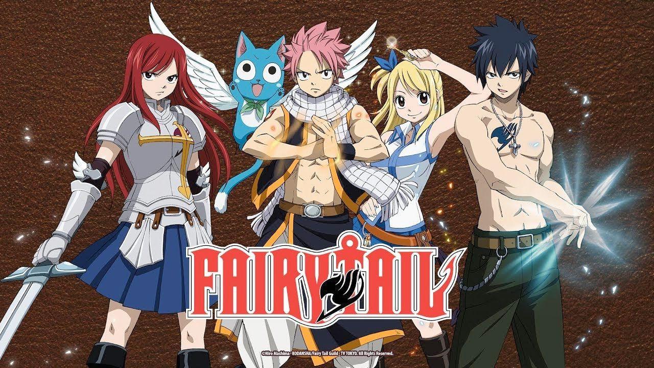Fairy tail l 39 anime tratto dal manga di hiro mashima si - Image manga fairy tail ...