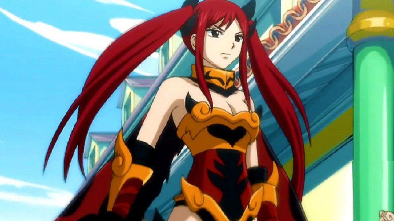 Fairy Tail: Erza Scarlett arde in un fiammeggiante cosplay