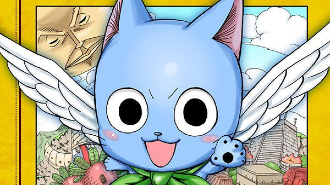 Fairy Tail: Happy no Daiboken, spunta in rete la copertina del primo volume