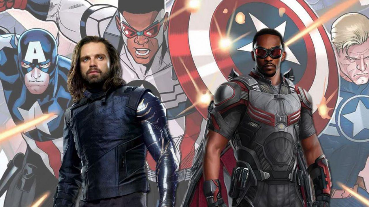 Falcon and the Winter Soldier: nuova foto in costume per Anthony Mackie e Sebastian Stan