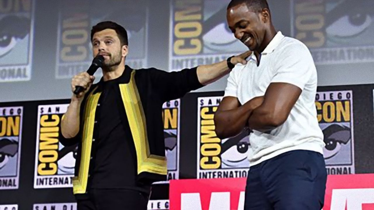 Falcon & The Winter Soldier, Sebastian Stan prende in giro Anthony Mackie in un nuovo post