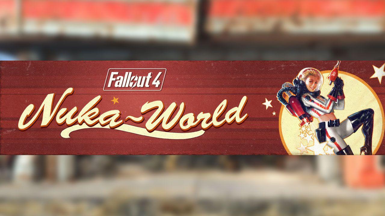Fallout 4: disponibile l'aggiornamento pre Nuka-World