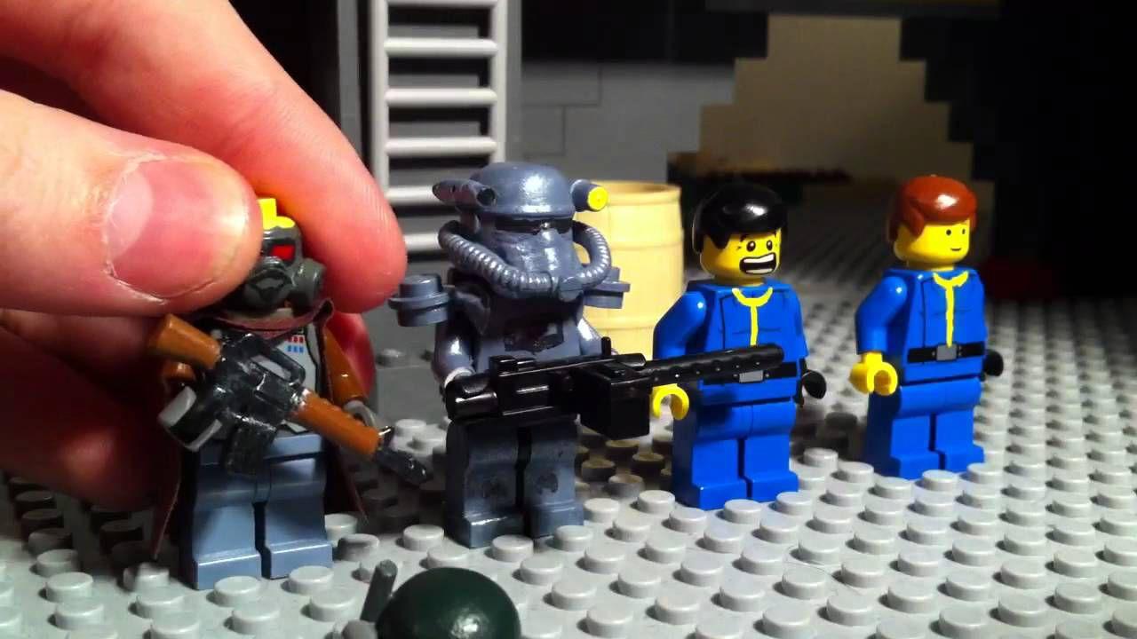 Fallout 4 prende vita con i mattoncini LEGO