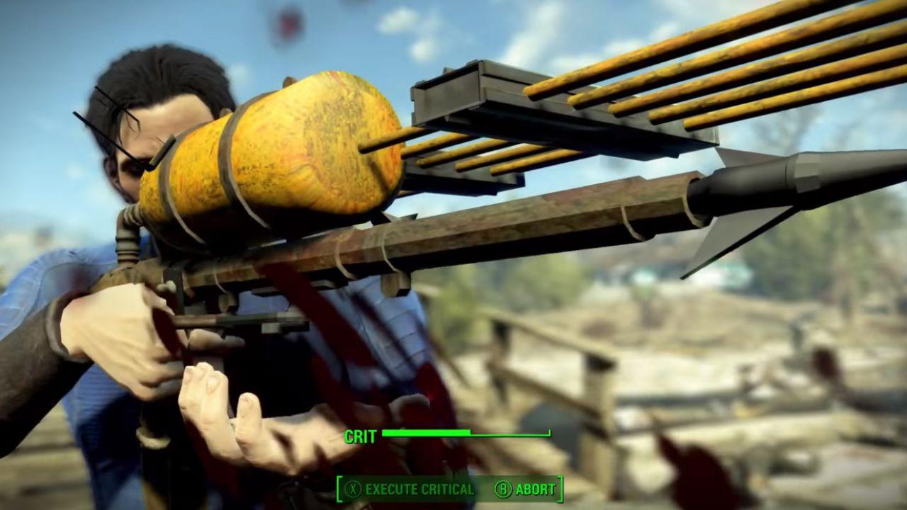 Fallout 4: scoperto il lancia arpioni