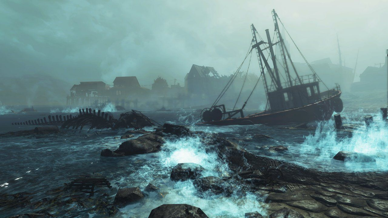 Fallout 4 si aggiorna su PC e Xbox One