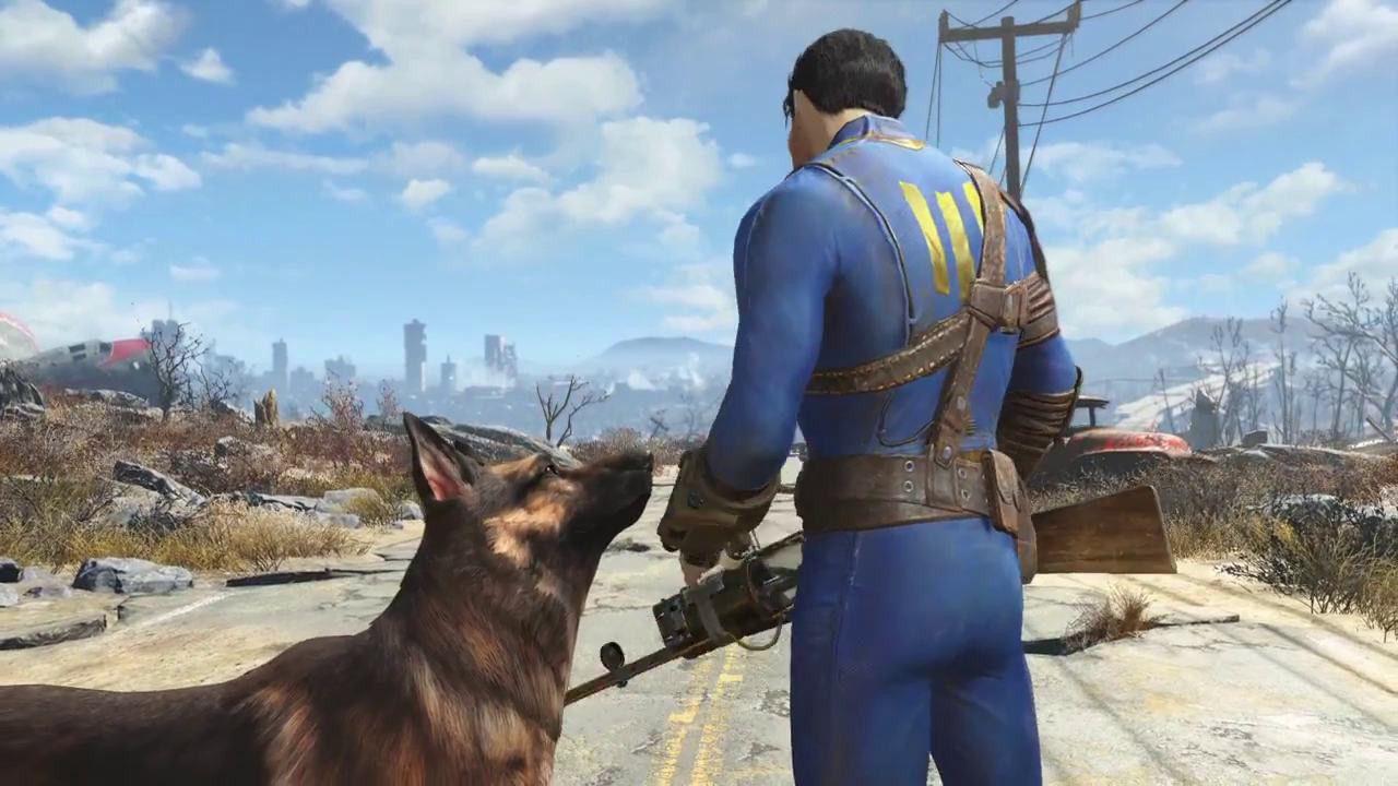 Fallout 4 si mostra nei primi screenshot tratti dal trailer