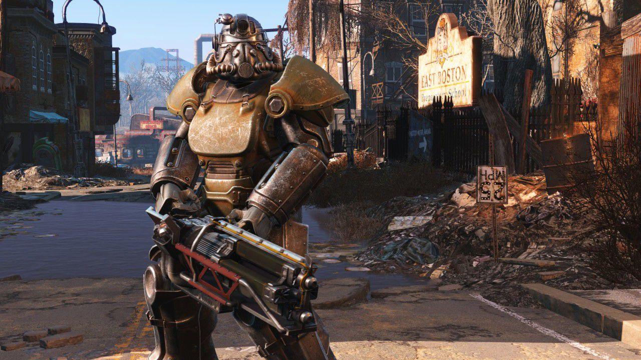 Fallout 4: ThreeZero presenta l'action figure della T-45 Power Armor