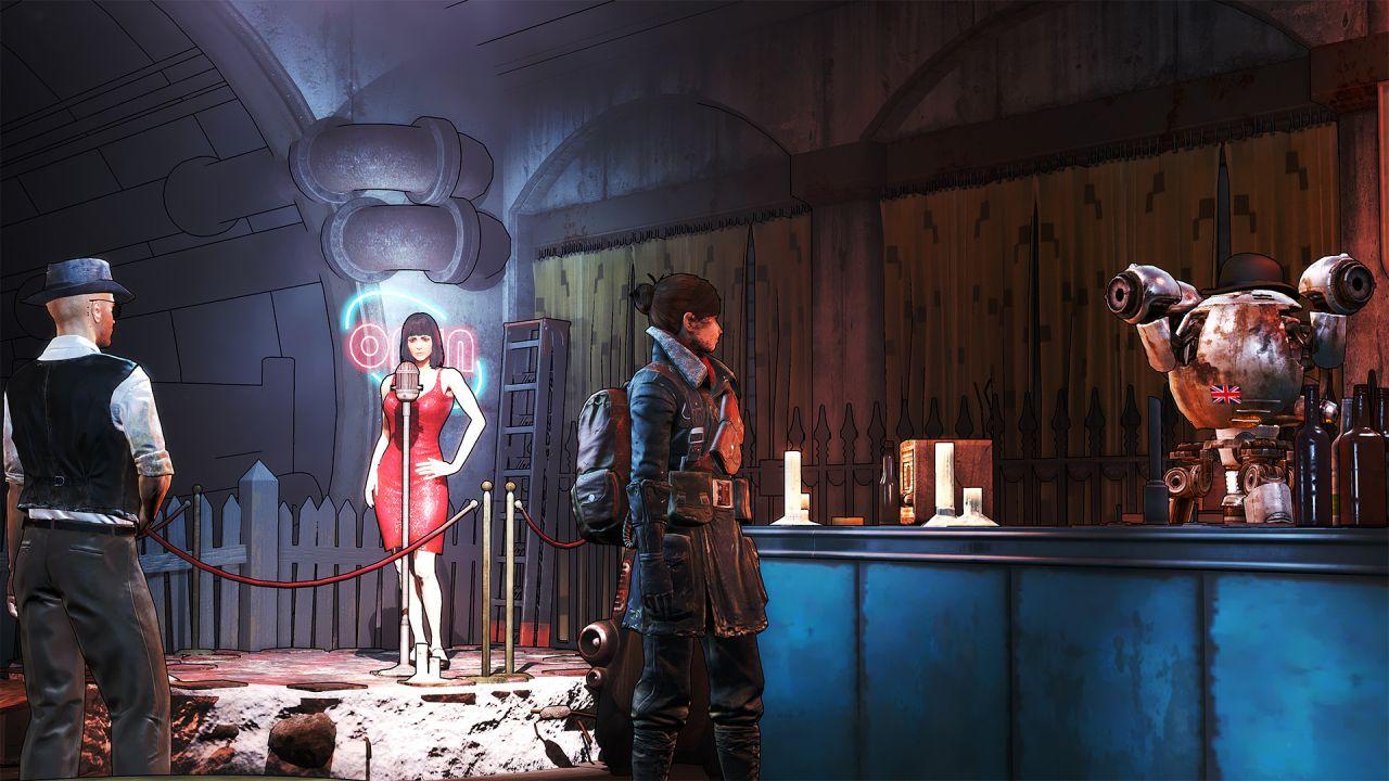 Fallout 4: un trucco per attivare la grafica in stile Borderlands