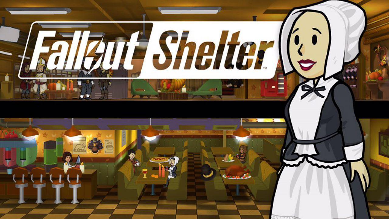 Fallout Shelter: in arrivo un nuovo aggiornamento per il Giorno del Ringraziamento