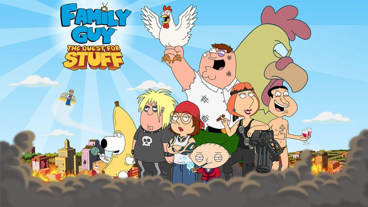 Family Guy: Missione per la Gloria, Bryan Cranston, Patrick Stewart, Stan Lee presenti nel gioco